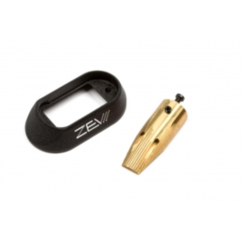 ZEV Tech Mag. Kit. Aluu. Sm/Brass, Heavy, 4 gen.